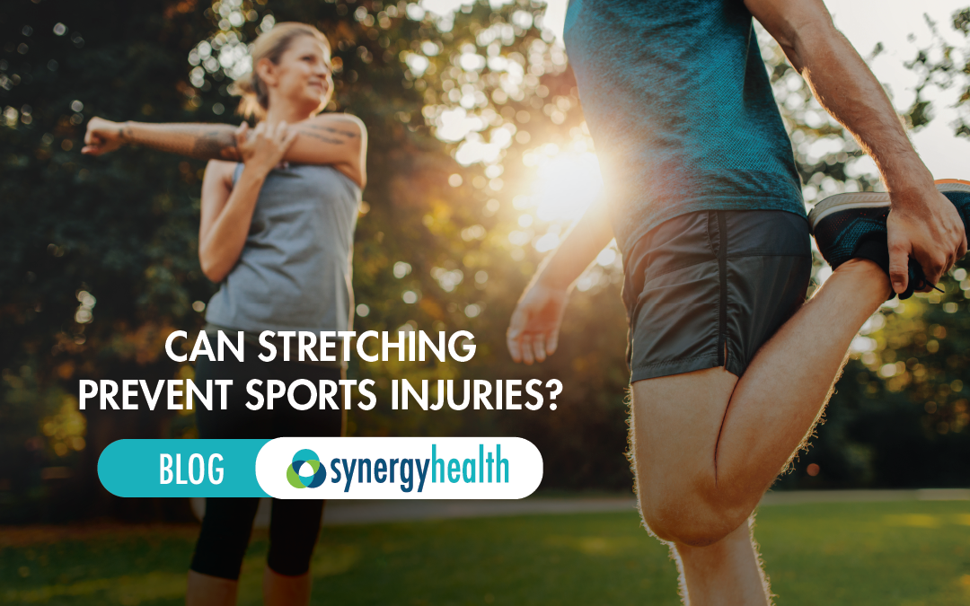 can stretching prevent sports injuries? - Synergy Health blog - physical therapy