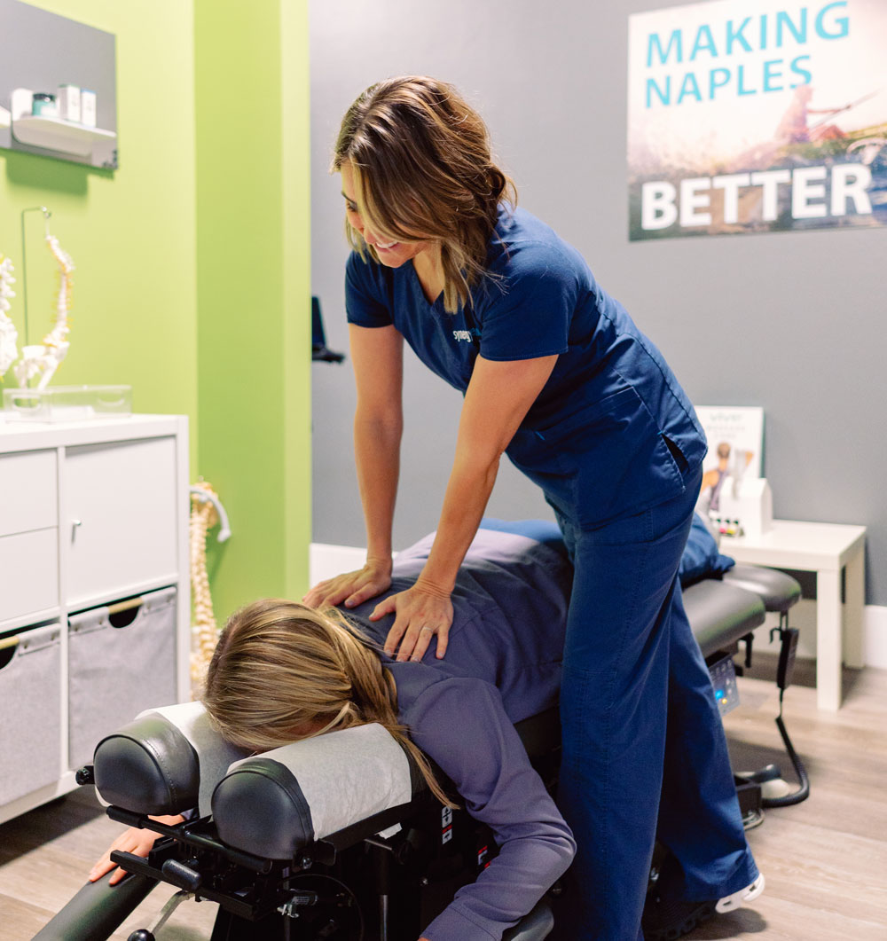 chiropractor in naples florida synergy health